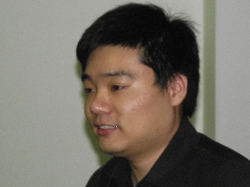 Ding Junhui smiling