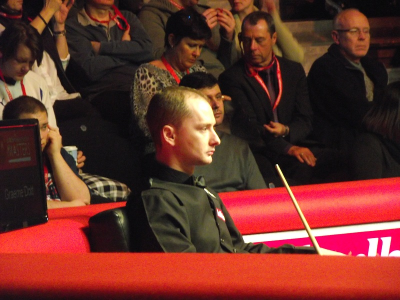 Graeme Dott at the Masters