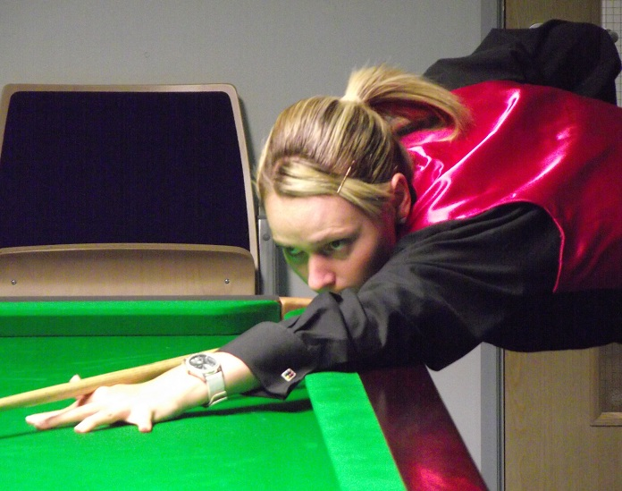 Reanne Evans World Women's Snooker Champion 2014
