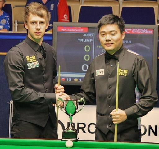 Judd Trump & Ding Junhui PTC2 Snooker 2011