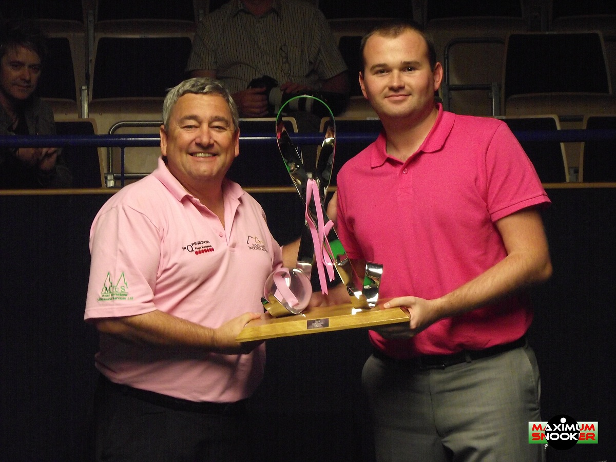 Paul Mount Mark Joyce Pink Ribbon Snooker 2011