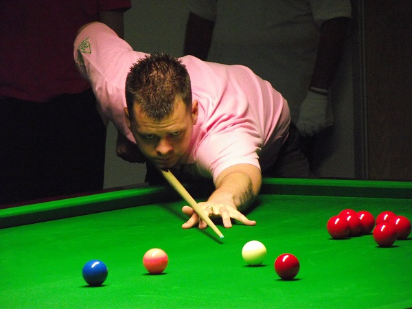 Jimmy Robertson Pink Ribbon 2011 Snooker