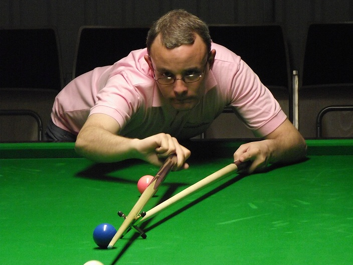 Martin Gould Snooker Pink Ribbon 2011