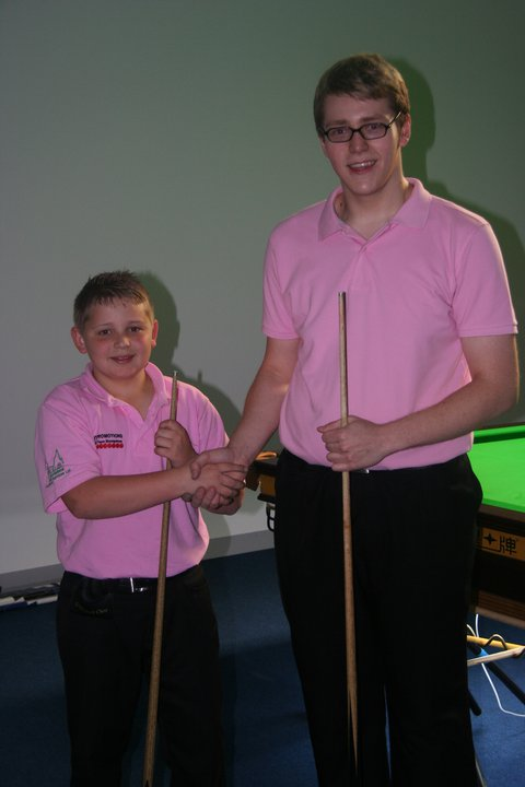 Steve Kent and Ben Fortey Pink Ribbon 2011