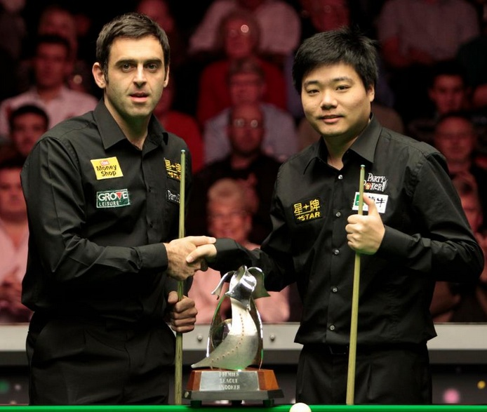 Ronnie O'Sullivan Ding Junhui Premier League Snooker Final 2011