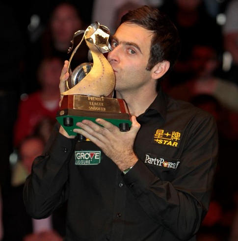 O'Sullivan Captures 10th Premier League Title