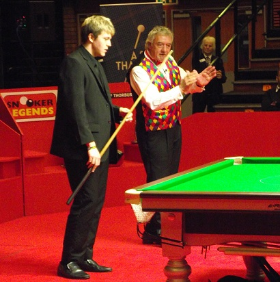 John Virgo Steve Kent Snooker Legends