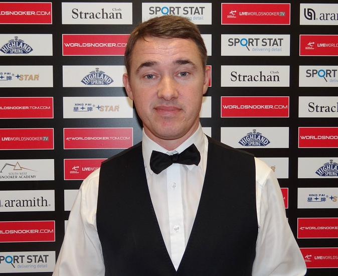 Stephen Hendry Snooker UK 2011