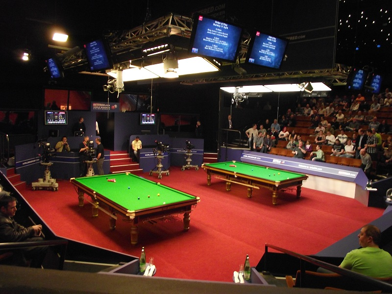 world championship snooker latest