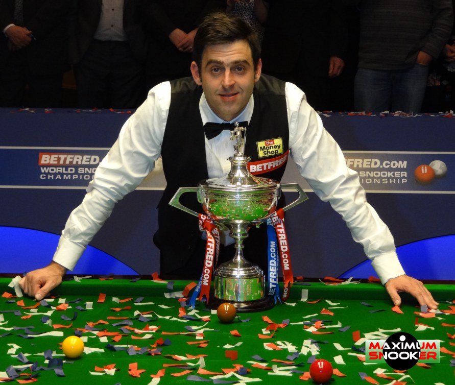 Ronnie O'Sullivan Snooker World Champion 2012