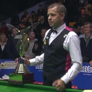 Barry Hawkins Australian Open Snooker Champion 2012
