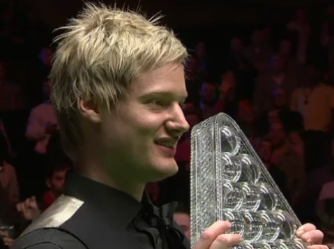 Neil Robertson Snooker Masters Champion 2012