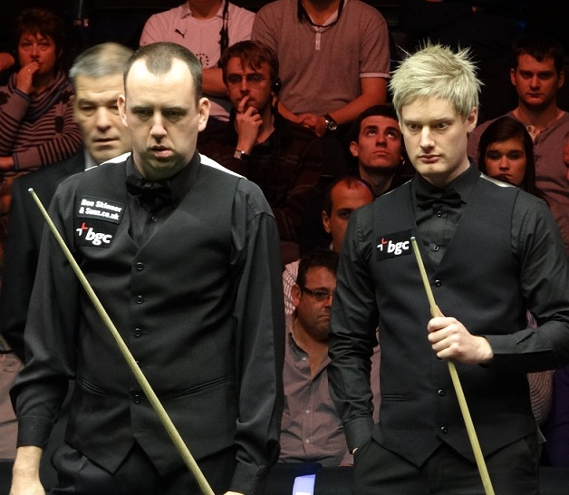 Mark Williams Neil Robertson Snooker Masters 2012