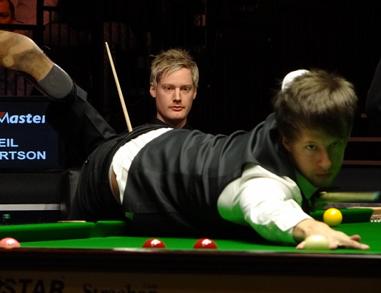 Neil Robertson Judd Trump Snooker Masters 2012