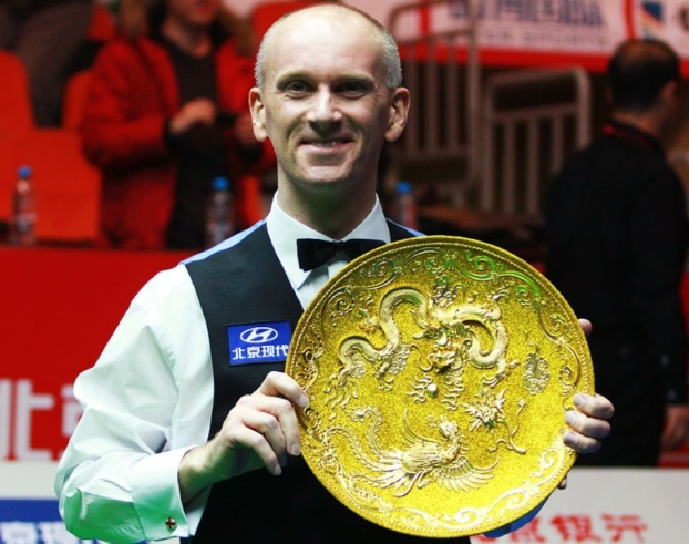 Peter Ebdon Snooker China Open Champion 2012