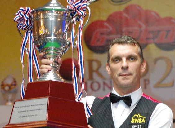 Mark Davis 6 Reds Snooker World Champion 2012
