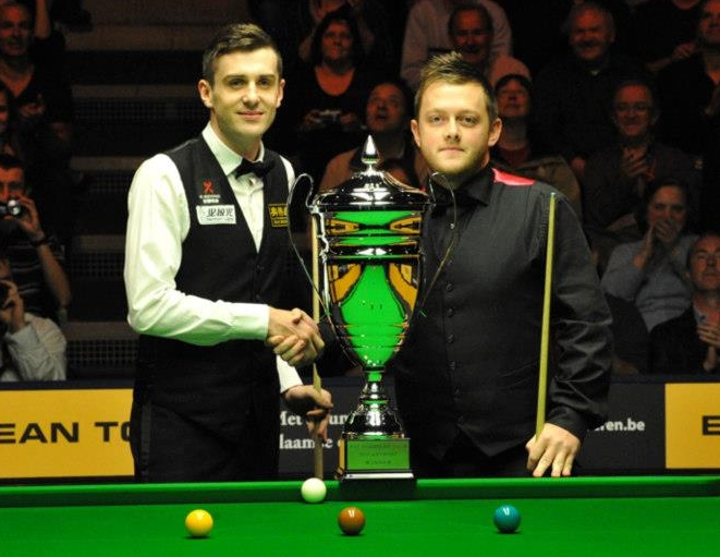 Mark Selby Mark Allen Antwerp Open 2012 Final