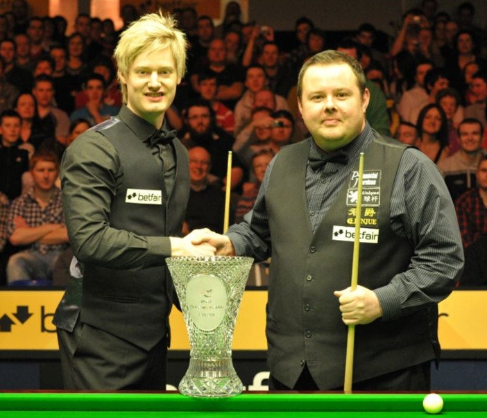 Neil Robertson Stephen Lee Snooker PTC Grand Final 2012