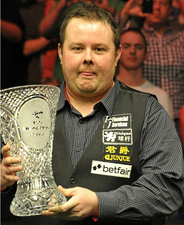 Stephen Lee PTC Finals Snooker Champion Trophy 2012