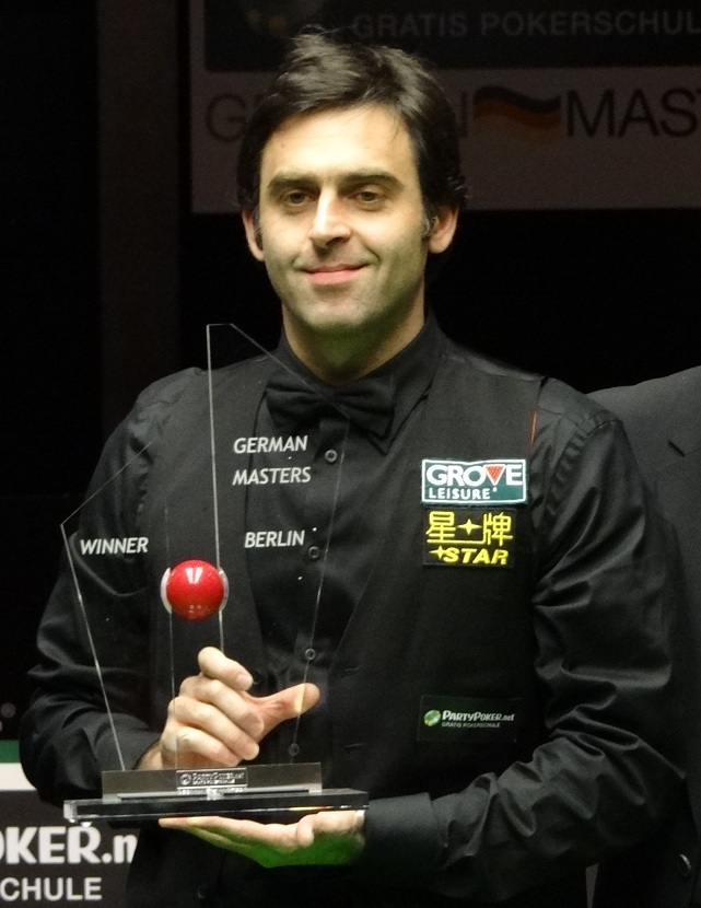 Ronnie O'Sullivan German Masters Snooker Champion 2012