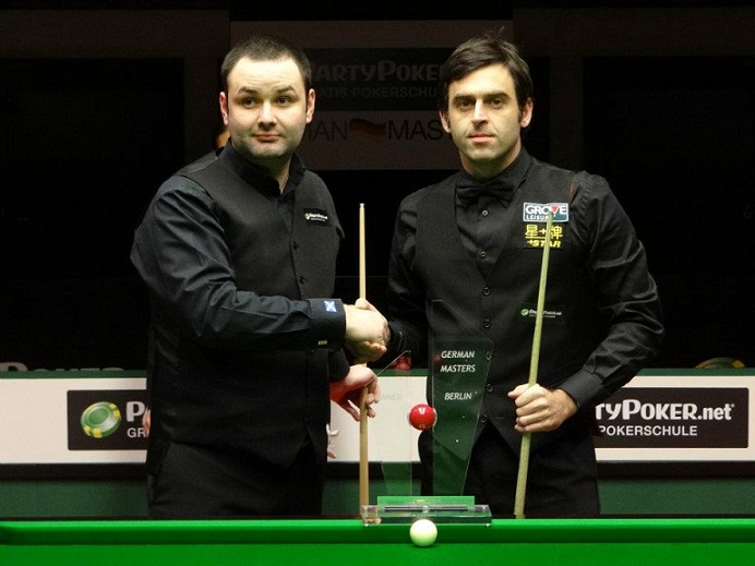Stephen Maguire Ronnie O'Sullivan Snooker German Masters Final 2012