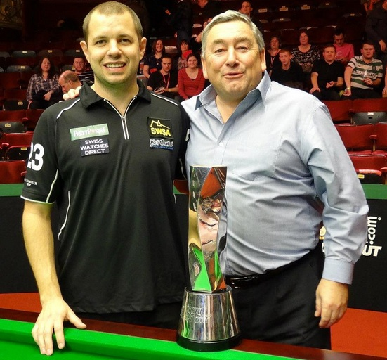Barry Hawkins Paul Mount Snooker Shoot Out Champion 2012