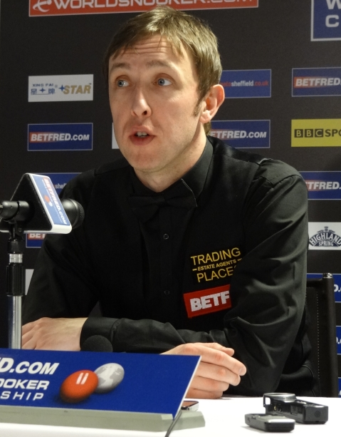 Andrew Higginson Snooker World Championship 2012