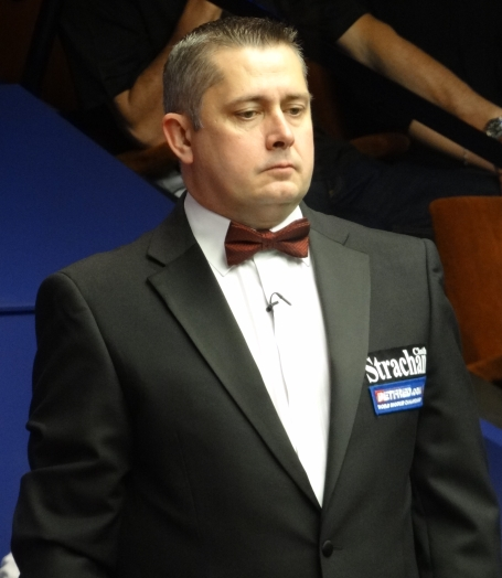 Paul Collier Snooker Referee