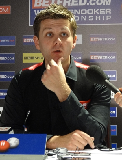 Ryan Day Snooker World Championship 2012