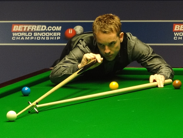 Ali Carter Snooker World 2012