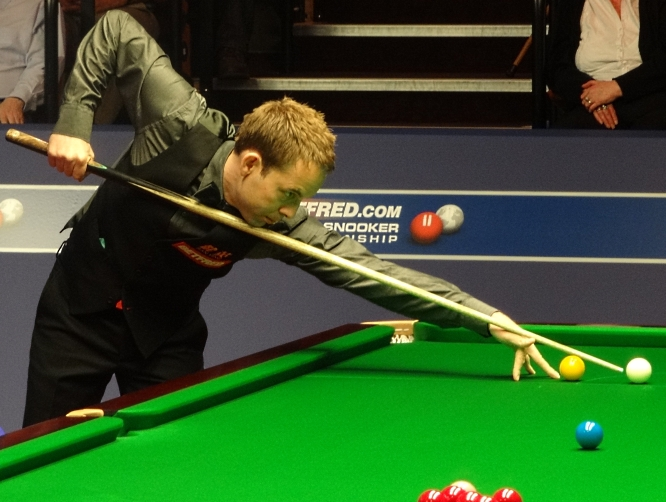 Ali Carter Snooker World Championship 2012