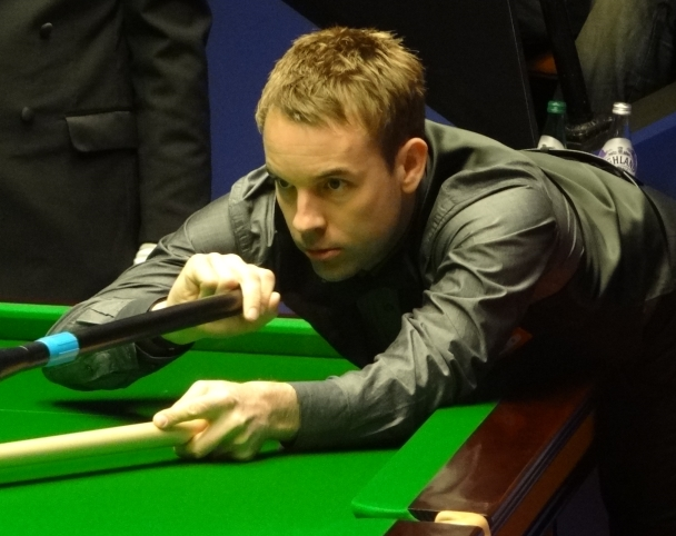 World Snooker Championship 2012 - Carter thrashes ill Davis