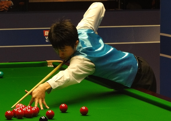 Liu Chuang Snooker World Championship 2012