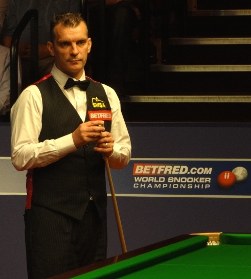 Mark Davis snooker world championship 2012