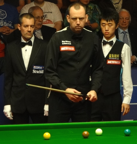 World Snooker Championship 2012 - Williams halts Chuang fightback to progress