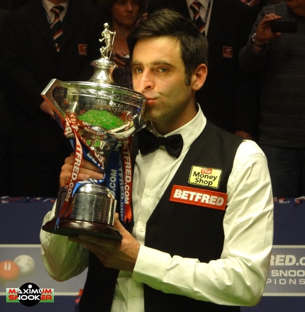 Ronnie O'Sullivan World Snooker Champion