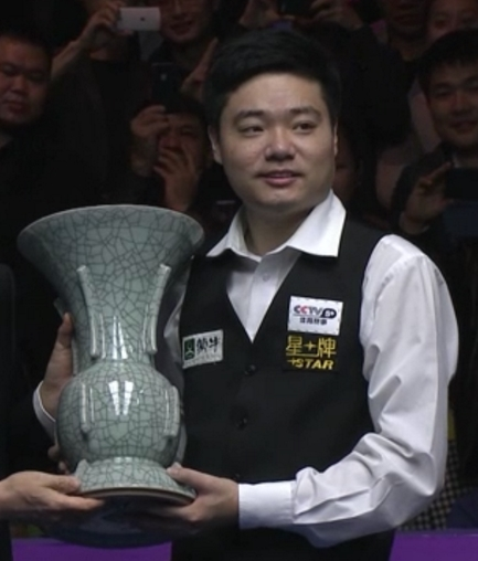 Terrific Ding takes the treble in Chengdu