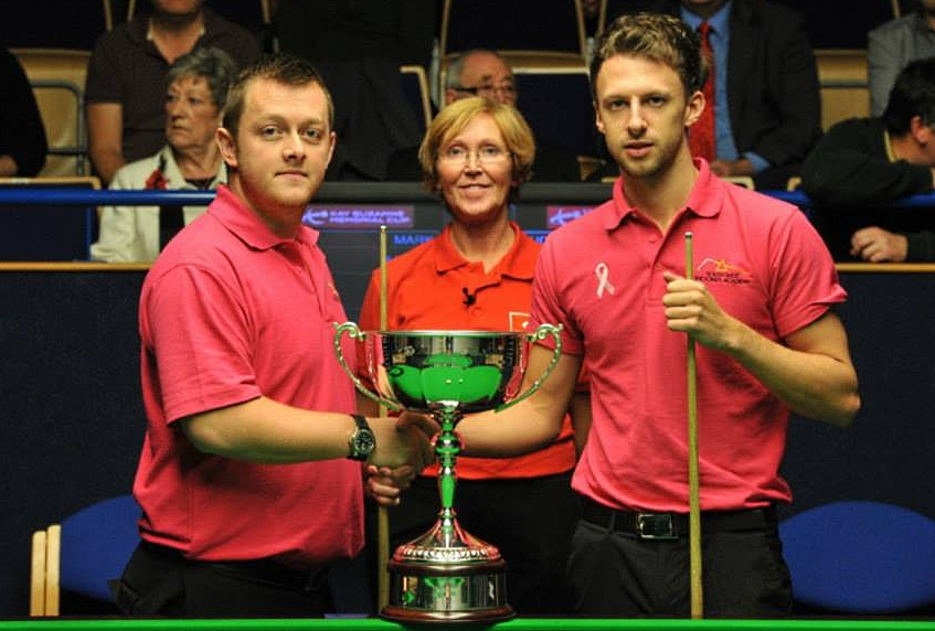 Mark Allen Judd Trump Hilde Moens Kay Suzanne Cup Snooker Final 2013 European Tour 6