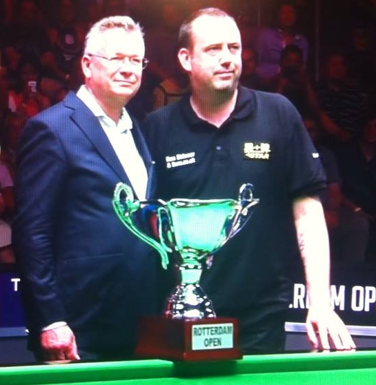 Mark Williams breaks trophy drought at the Rotterdam Open