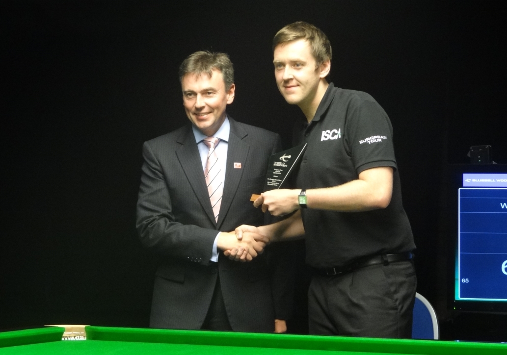 Ricky Walden & Jason Ferguson Bluebell Wood Open Snooker 2013
