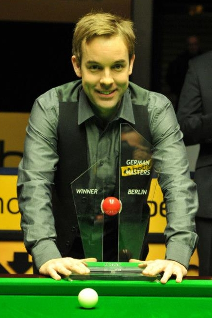 Ali Carter German Masters snooker champion winner 2012