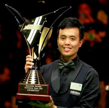 Marco Fu Snooker Australian Open 2013 Champion
