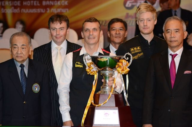 Mark Davis Six-Reds World Snooker Championship