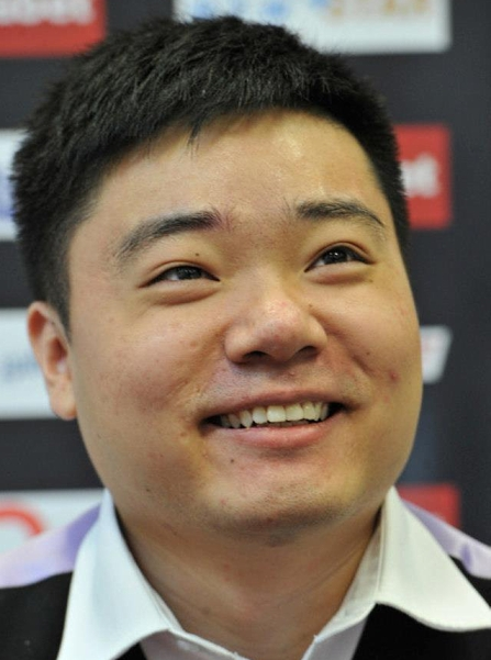 Ding Junhui Snooker 2013 Happy