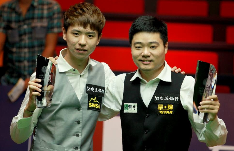 Xiao Guodong and Ding Junhui Shanghai Masters final 2013