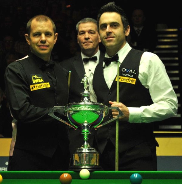 World Snooker Championship Final - Rocket edges ahead of the Hawk