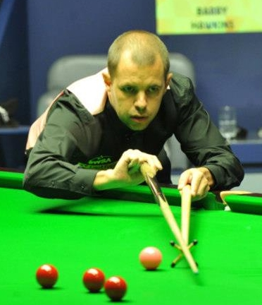 World Snooker Championship - Hawkins sets up O'Sullivan final