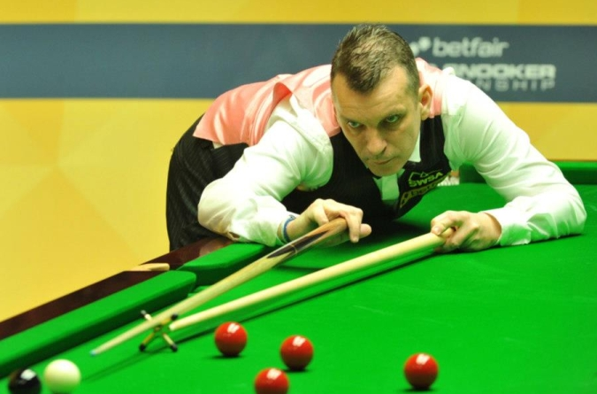 Mark Davis Snooker World Championship 2013