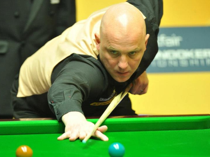 Mark King Snooker World Championship 2013
