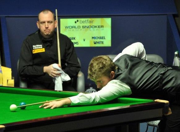 Michael White, Mark Williams, Snooker World Championship 2013